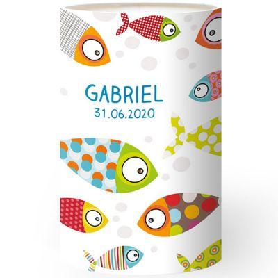 Lampe à poser poissons personnalisable  par Série-Golo
