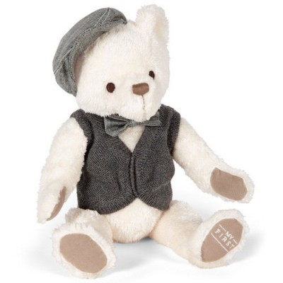 Peluche My First ours gris (25 cm) Mamas and Papas