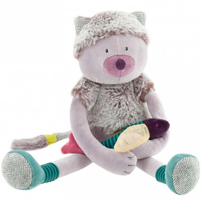 Peluche chat Chamalo (34 cm) Moulin Roty