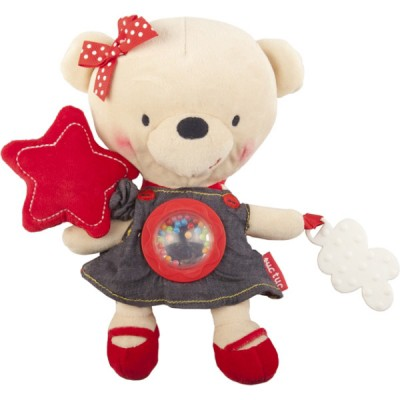 Peluche ours fille multi-activités Life in the air Tuc Tuc