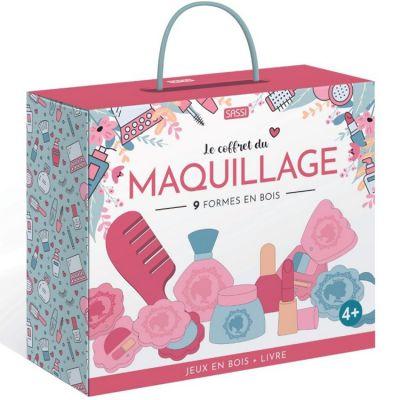 Mallette livre + jouets en bois Mon set de maquillage  par Sassi Junior