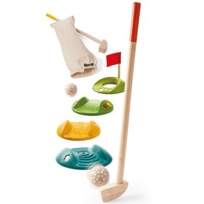Mini golf double Plan Toys
