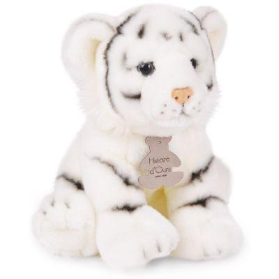 Coffret peluche tigre Les authentiques (20 cm) Histoire d'Ours