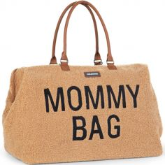 Sac à langer à anses Mommy bag large Teddy beige