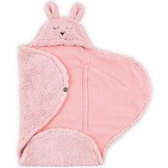 Couverture nomade Bunny rose