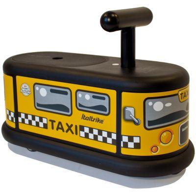 Porteur  La Cosa Taxi jaune et noir  par Italtrike