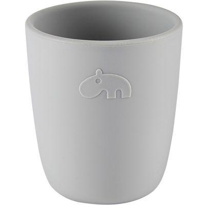 Gobelet en silicone Ozzo hippopotame gris (160 ml)  par Done by Deer