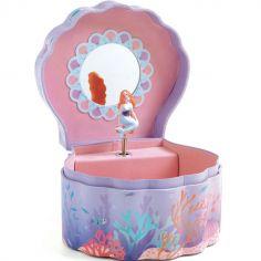 Boîte à bijoux musicale Sirène enchantée