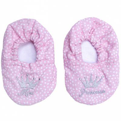 Chaussons en coton Mini princesse (0-6 mois)  par BB & Co