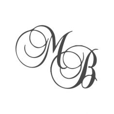 Gravure 2 initiales couplées sur bijou (Typo 2 Balmoral)