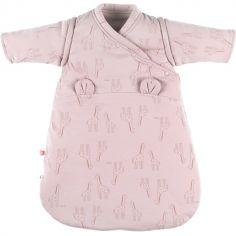 Gigoteuse en jersey bio chaude Mix & Match rose TOG 1-2 (50 cm)