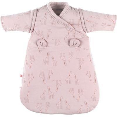 Gigoteuse en jersey bio chaude Mix & Match rose TOG 1-2 (50 cm)  par Noukie's