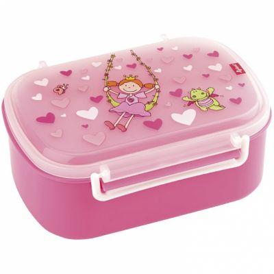 Boîte à goûter Pinky Queeny rose  par Sigikid
