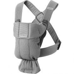 Porte-bébé Mini tissu Mesh 3D gris