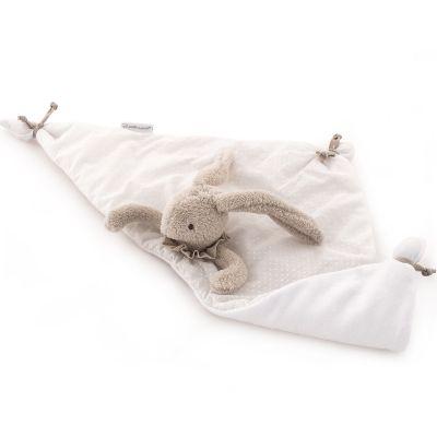 Doudou plat Baby Etoile lapin beige (51 x 25 cm) Pasito a pasito