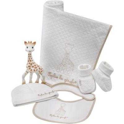 Ensemble cadeau de naissance pour b/éb/é gar/çon girafe layette trousseau
