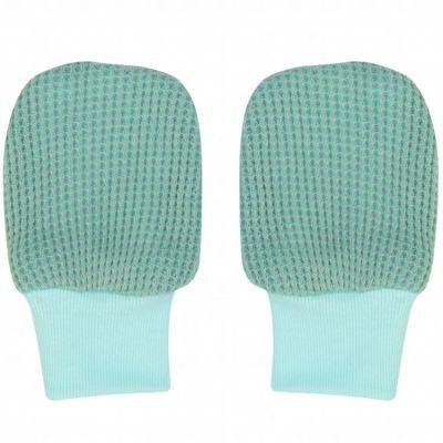 Moufles de naissance Ciumbelle Silt Green vert d'eau  par Lodger