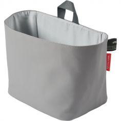 Vide-poches à suspendre en polyester recyclé PET gris