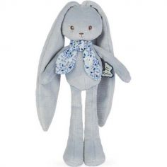 Peluche lapin bleu Lapinoo (25 cm)
