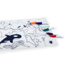Set de table à colorier Sur la banquise  par Super Petit