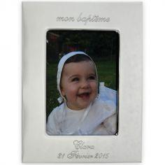 Cadre photo Mon Baptême (personnalisable)