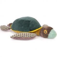 Peluche géante Grande tortue Tout autour du monde (60 cm)
