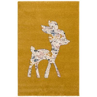 Tapis rectangulaire Faon jaune (80 x 150 cm)  par Art for Kids