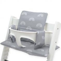 Assise pour chaise haute Stokke Tripp Trapp Rainbow gris