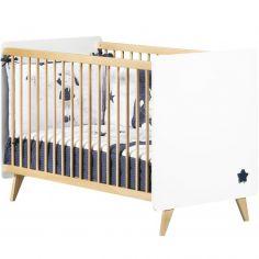 Lit bébé à barreaux Oslo (60 x 120 cm)