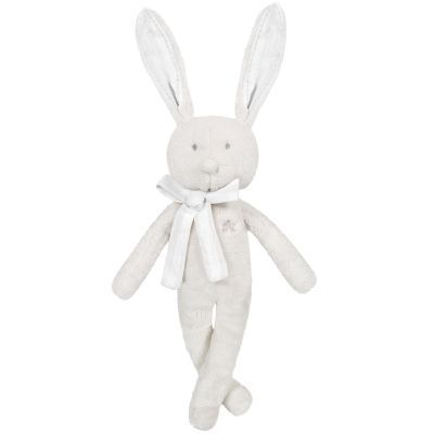 Peluche Augustin le lapin gris (40 cm)  par Tartine et Chocolat