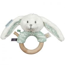 Anneau hochet lapin Adventure mint  par Little Dutch