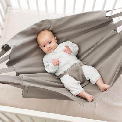 Hamac de voyage pour parc bébé taupe  par Hoppa