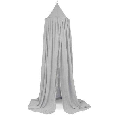 Ciel de lit gris (245 cm)  par Jollein