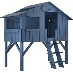 Lit cabane enfant finition laquée (5 coloris au choix)