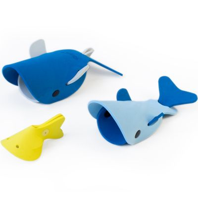Jouets de bain à assembler Les baleines de haute mer  par Quut