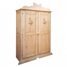 Armoire 2 portes Lapin finition brut  par Mathy by bols