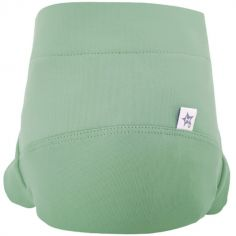 Culotte couche lavable classique TE2 vert eucalyptus (Taille S)