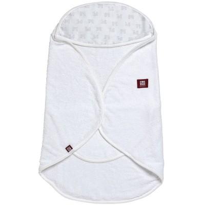 Babynomade de bain blanc imprimé château (0-6 mois)  par Red Castle