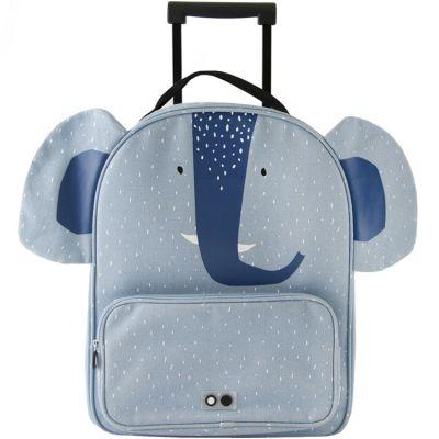 Valise trolley Mrs. Elephant  par Trixie