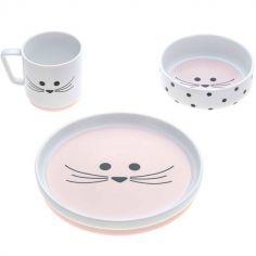 Coffret repas en porcelaine souris Little Chums (3 pièces)