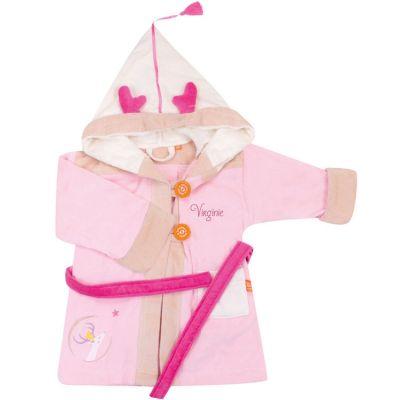 Peignoir daim personnalisable (2-4 ans)  par L'oiseau bateau