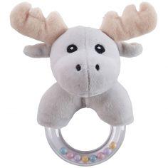 Hochet anneau orignal gris Edvin
