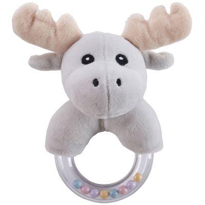 Hochet anneau orignal gris Edvin  par Kid's Concept