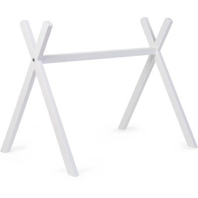 Arche d'activités en bois Tipi Gym blanc  par Childhome