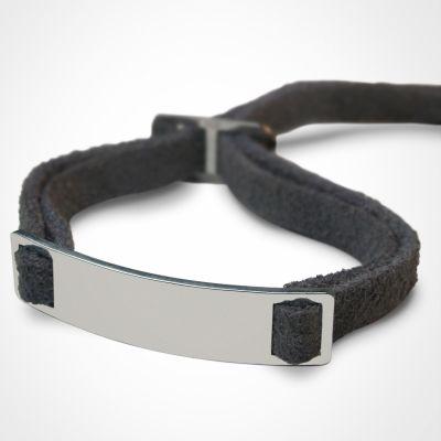 Bracelet 'Skin' (or blanc 750°)  par Mikado