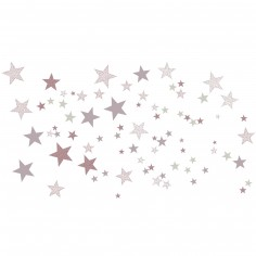 Stickers Etoiles constellation rose