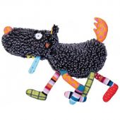 Peluche Louloup musical T'es Fou Louloup (27 cm) - Ebulobo