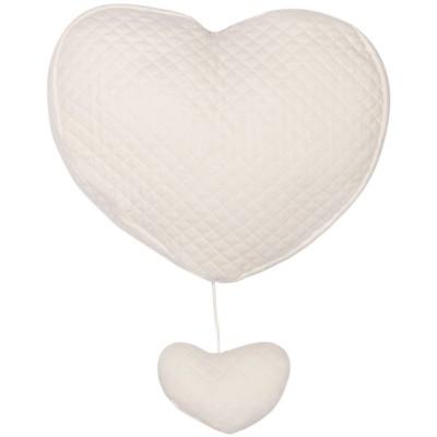Coeur musical Diamond Ivory Les Rêves d'Anaïs