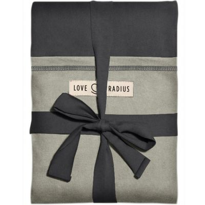 Echarpe de portage L'Originale anthracite poche olive Je Porte Mon Bébé / Love Radius