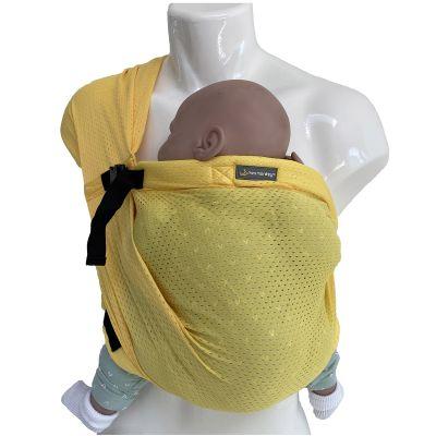 Porté bébé Mini Sling jaune  par Minimonkey